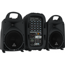 Behringer PPA500BT - 500W 6-Channel Portable PA System