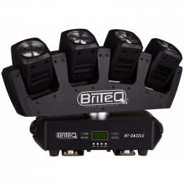 Briteq BT-DAZZLE - Quadruple Moving Beam with Endless Pan Movements