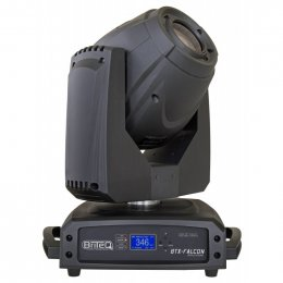 Briteq BTX-FALCON - Moving head projector based on a brand-new powerful 180W LED engine