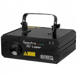 Briteq SPECTRA-3D Laser - 3D RGB Effects Laser