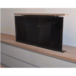 Definition TV Lift - Cabinet Vertical Scroller -Fixed Lid