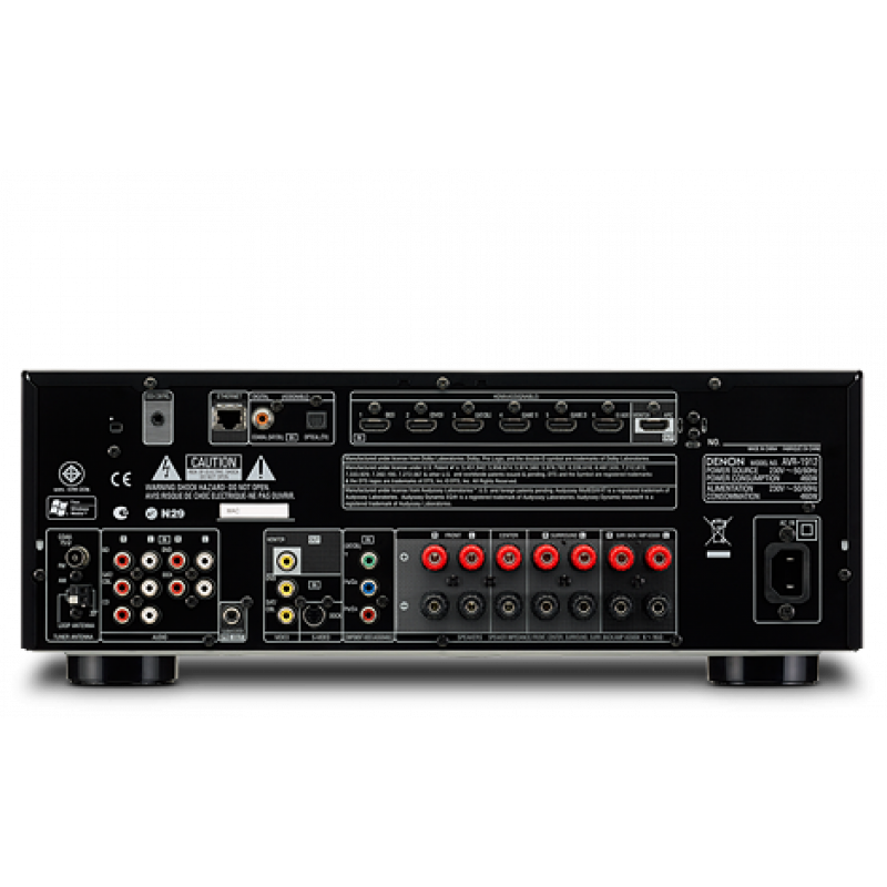 Discontinued Denon AVR-1912 Discontinued replaced with AVR X-2500