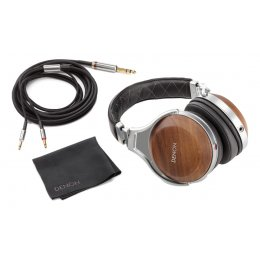 Denon AH-D7200 - Reference Over-Ear Headphones with Denon unique FreeEdge Driver - Silver