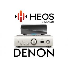 HEOS LINK & Denon PMA1600 (Black)
