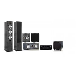 Monitor Audio System Bronze 6 With Denon AVR-x3600H - Home Theater System