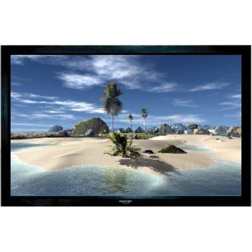 """Grandview Fixed Frame 106"""" -  Projector Screen Velvet Border 16:9"""