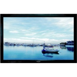 "Grandview Fixed Frame 100"" -  Projector Screen Velvet Border 4:3"