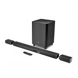 JBL Bar 5.1 - 5.1-Channel 4k Ultra HD Soundbar with True Wireless Surround Speakers