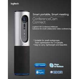 Logitech ConferenceCam Connect - Video Conferencing for 1-6 people