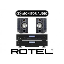 Rotel A12, Rotel CD14 & Monitor Audio Bronze 2
