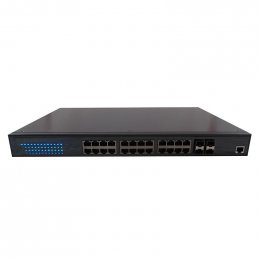 Pakedge S24Hf - 24 Port High Powered Gigabit Full PoE Switch