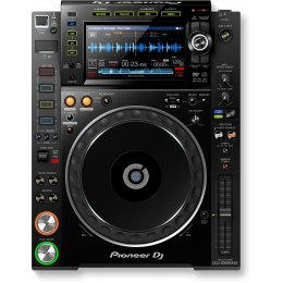 Pioneer CDJ2000-NXS2 - Pro-DJ Multi Player with High-Res Audio Support