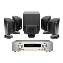 Bowers & Wilkins MT-50 Theater Package with Marantz NR1510