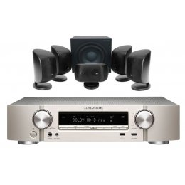 Bowers & Wilkins MT-55 Theater Package with Marantz NR1508