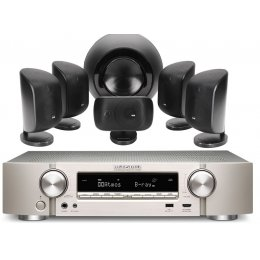 Bowers & Wilkins MT-60D Theater Package with Marantz NR1608