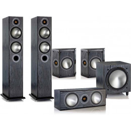 Monitor Audio Bronze 5 Package - New Series Bronze Home Theatre Speaker System (What HiFi Awards 2016)