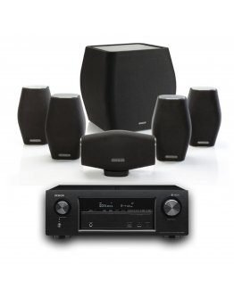 Monitor Audio Mass 5.1 System with Denon AVR-X1500H