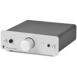 Pro-Ject Phono Box USB V  MM/MC Phono PreAmp with line and USB outputs